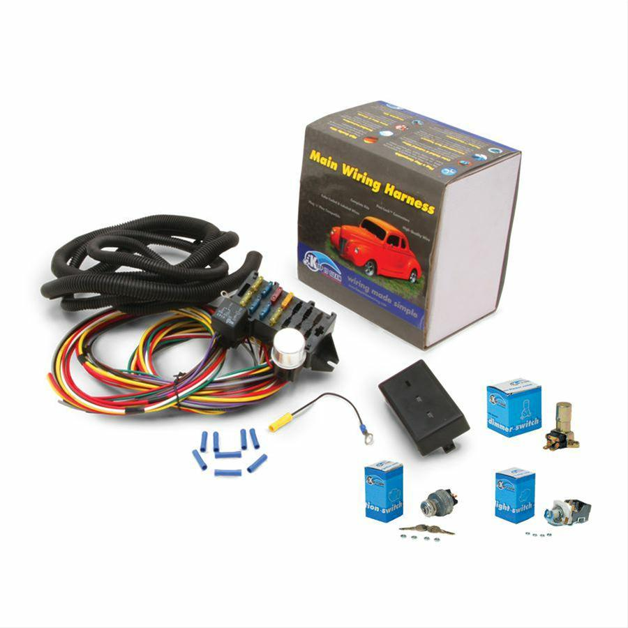 Keep It Clean ProComp Wiring Harnesses 110117 - Free Shipping on Orders  Over $99 at Summit Racing