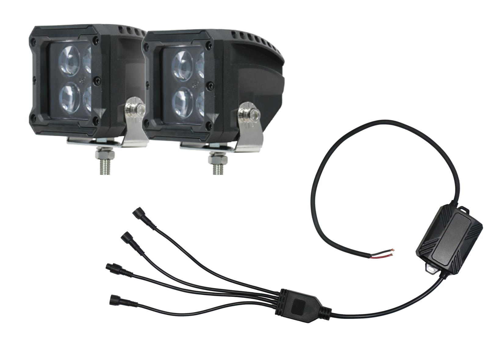 Hella 357211011 Valuefit Two Light Wiring Harness Holiday Gifts Lamp Auxiliary Lights