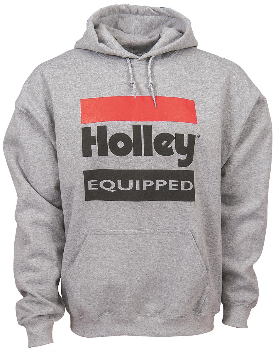 Holley 10023-XXXLHOL Holley Equipped Hoodie Gray