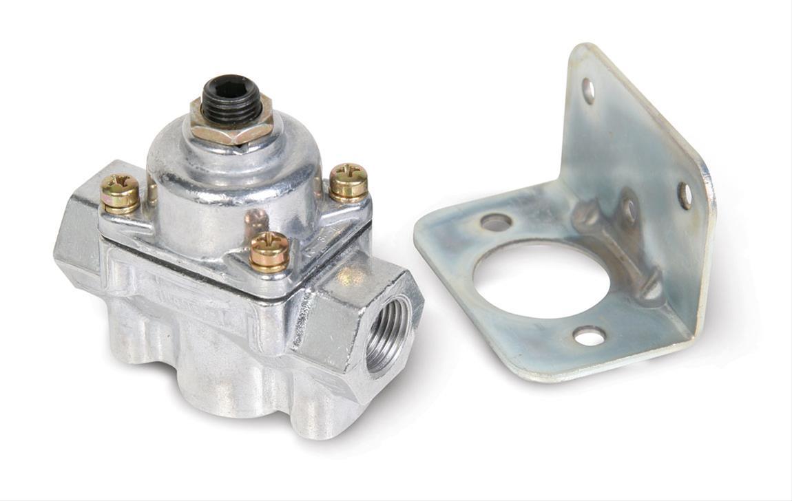 Holley 12-803 Chrome Carbureted Fuel Pressure Regulator