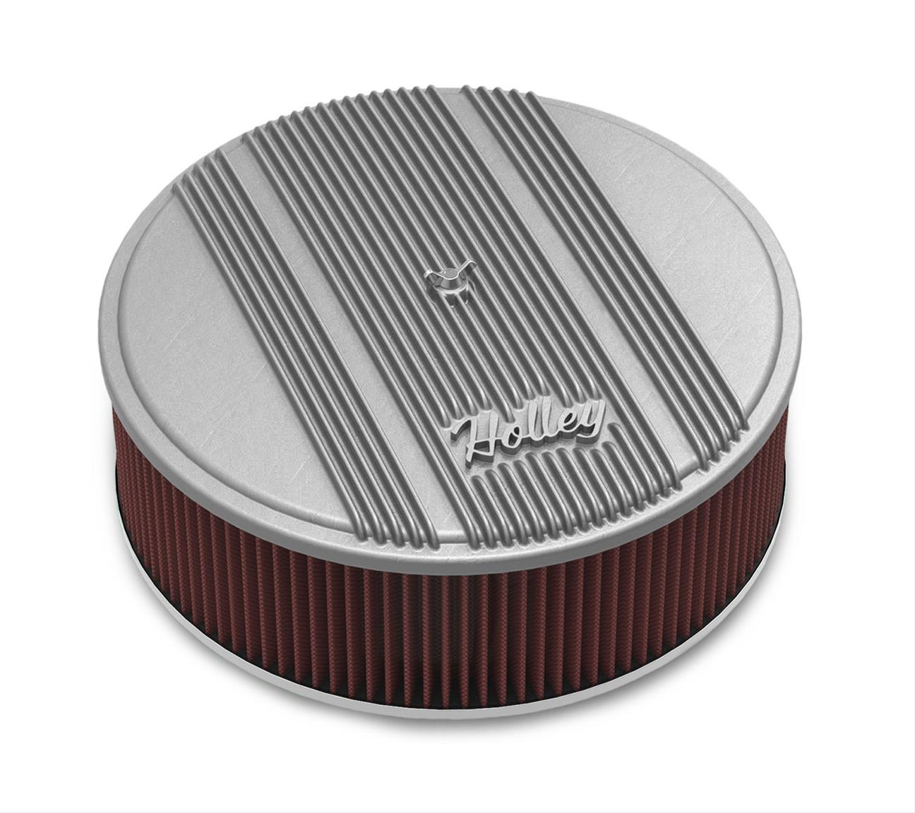 Holley Performance 120-153 Round Finned Air Cleaner