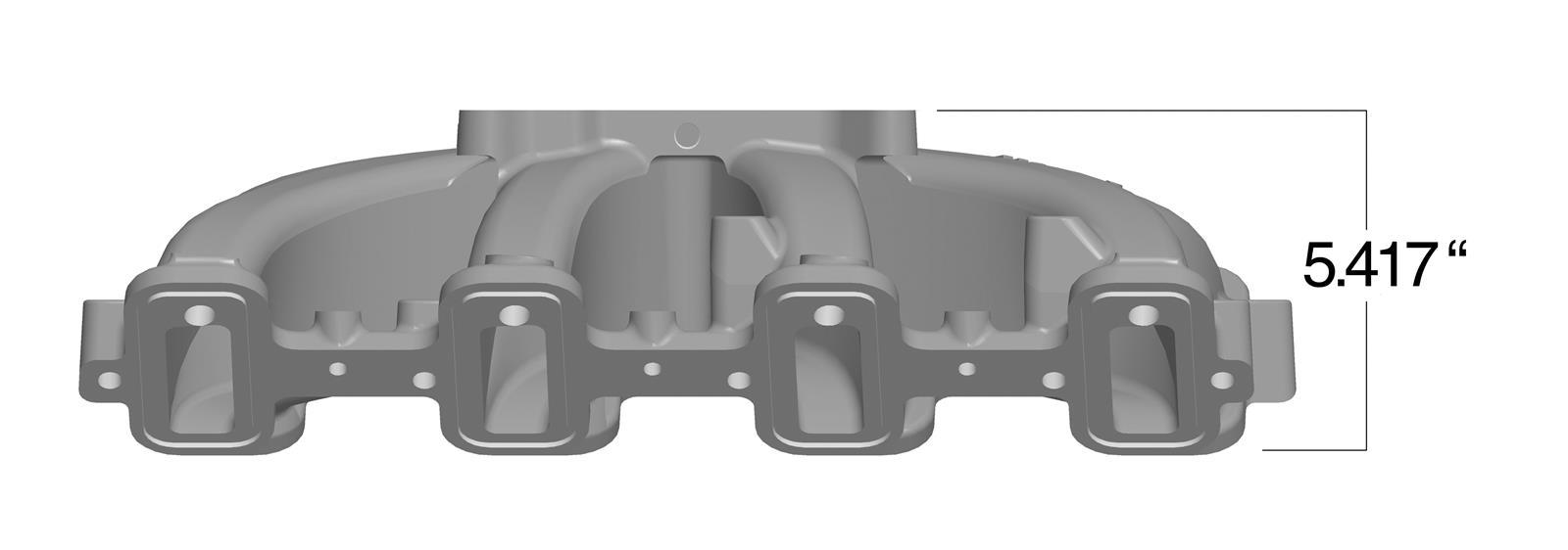Holley 300-137 LS1//LS2//LS6 Single Plane Intake Manifold