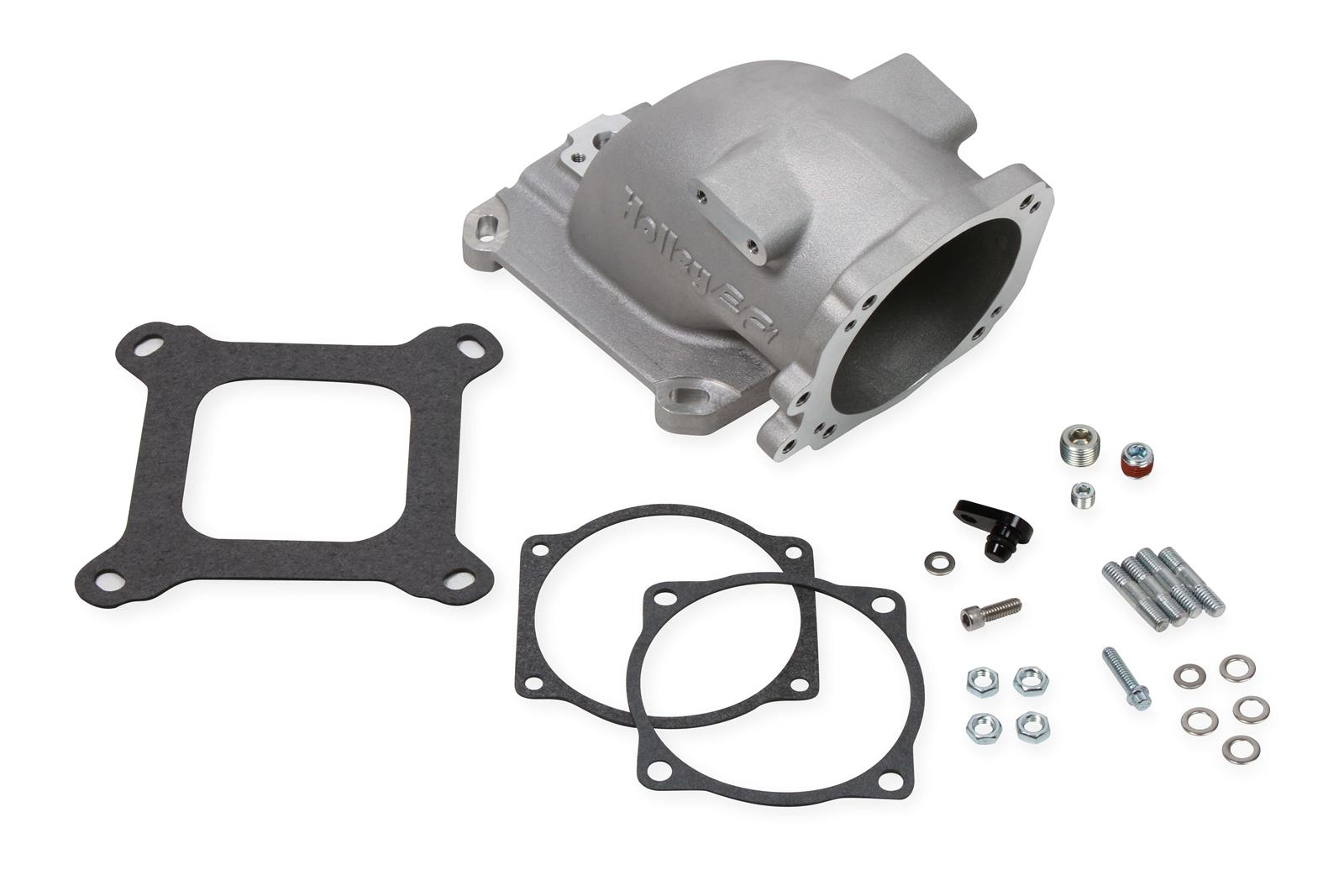 Holley EFI 300-240F EFI Throttle Body Intake Elbow