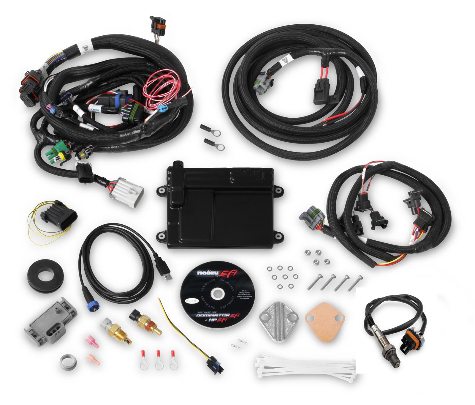 Awesome Holley Hp Efi Ecu And Harness Kits 550 606 Free Shipping On Orders Wiring Cloud Oideiuggs Outletorg