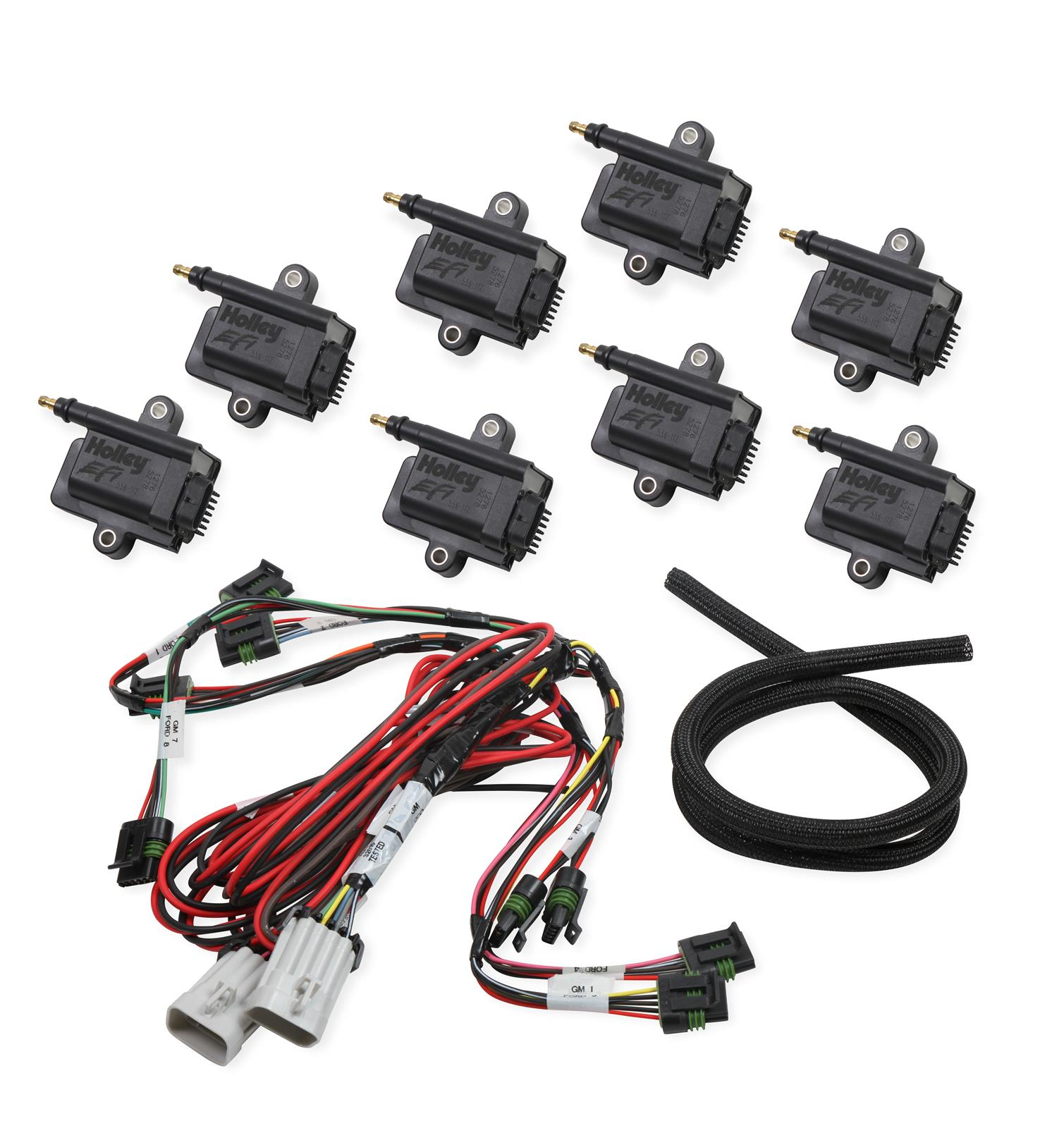 holley coil-near-plug smart ignition coils 556-128 - free shipping on  orders over $99 at summit racing