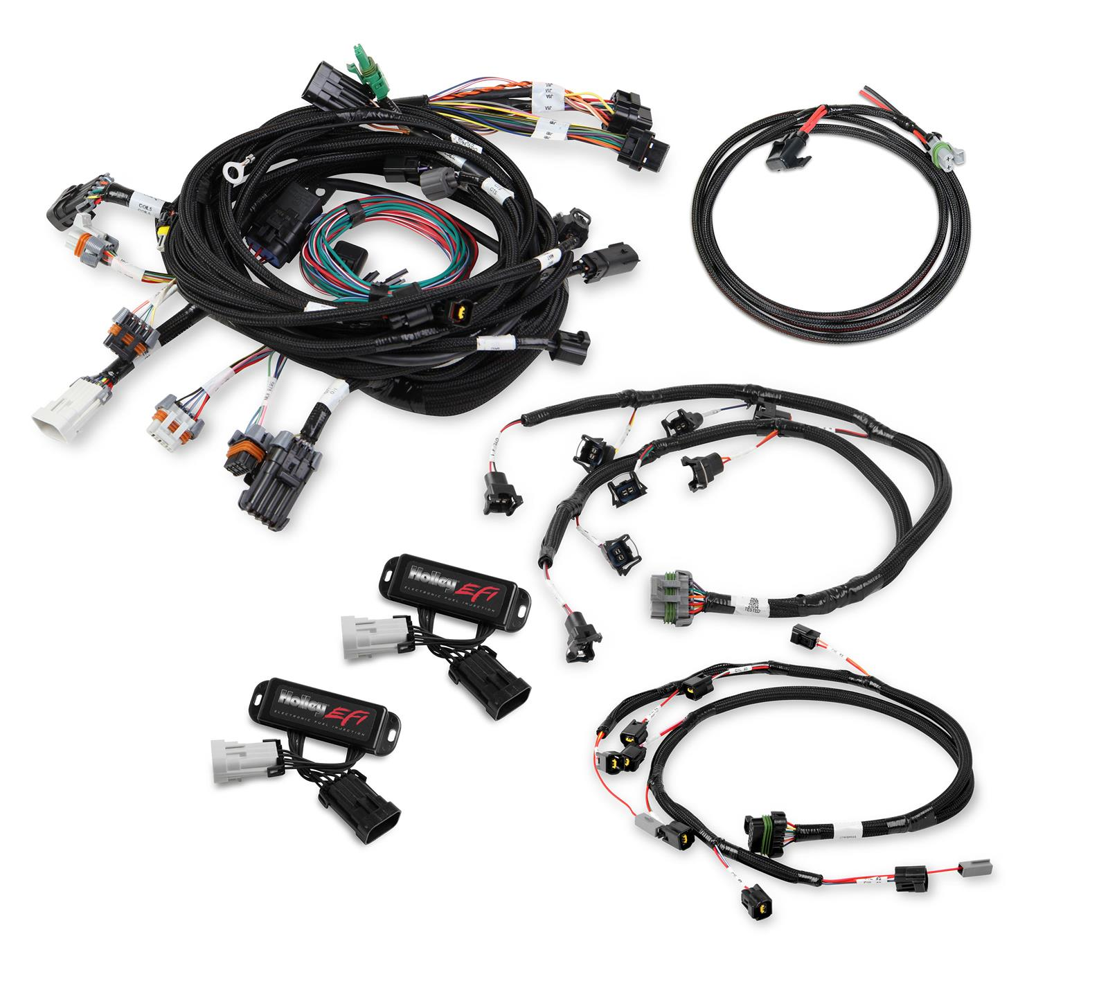 holley efi systems wiring harnesses 558-505