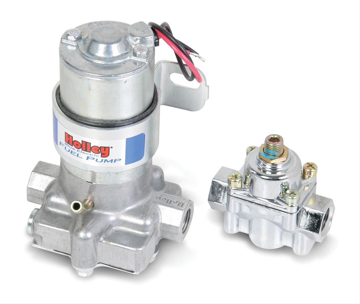 Holley Blue Electric Marine Fuel Pumps 712 802 1 Free Shipping On Edelbrock Pump Orders Over 99 At Summit Racing