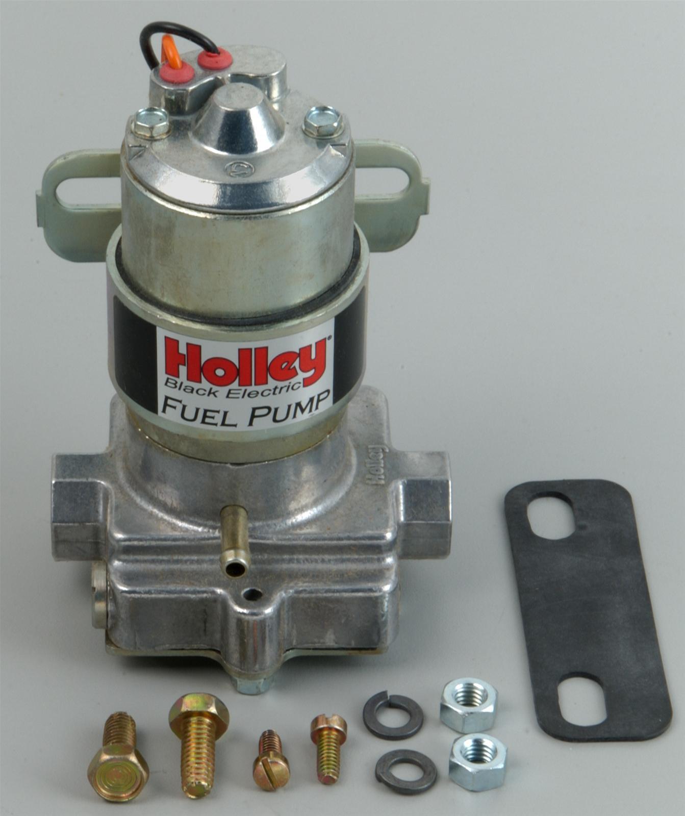 Holley Electric Fuel Pump 140 Gph Quotblackquot Electric Fuel Pump 712