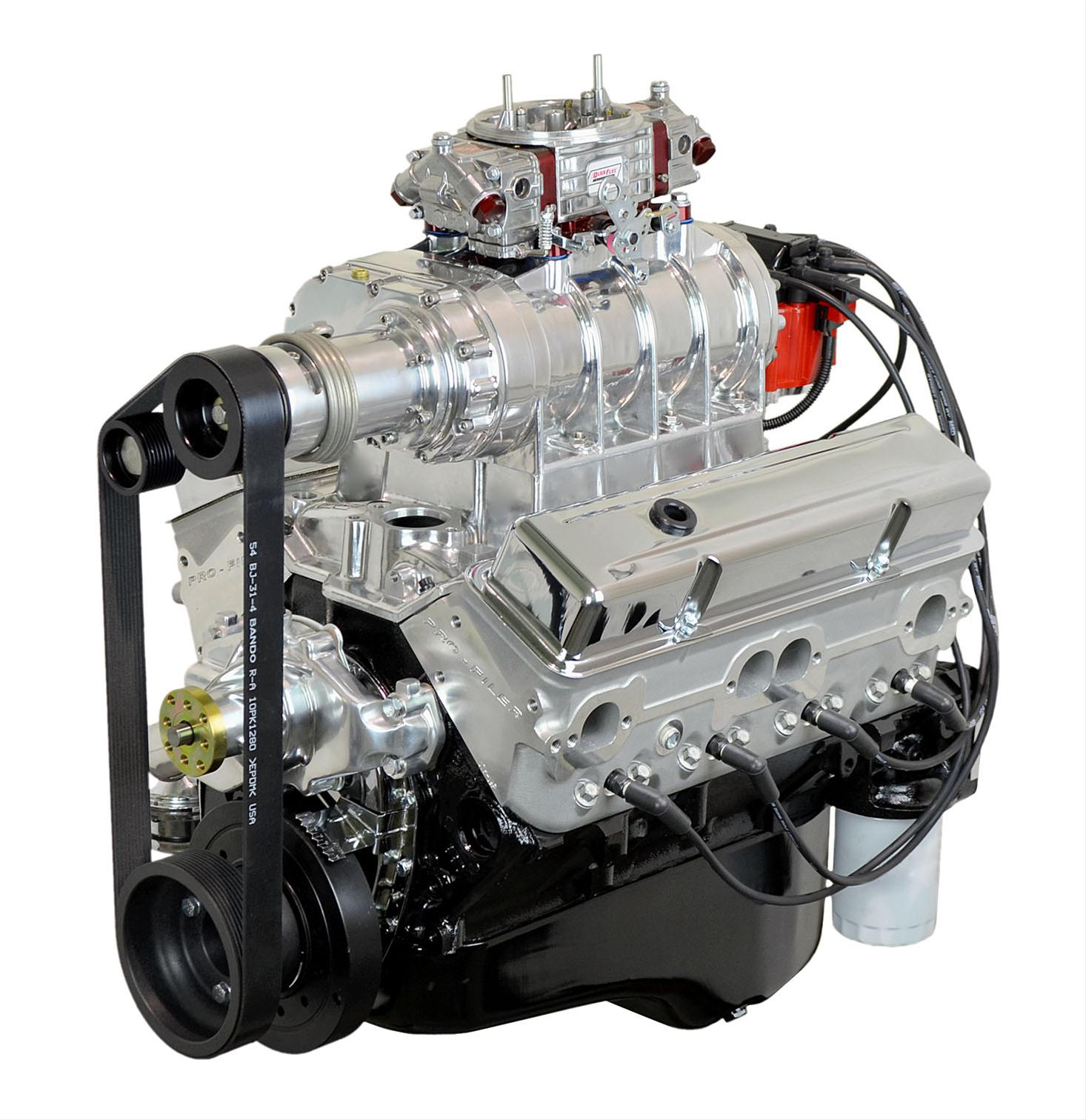 ATK High Performance GM 350 Supercharged 500 HP Stage 3 Long Block Crate  Engines HP38C