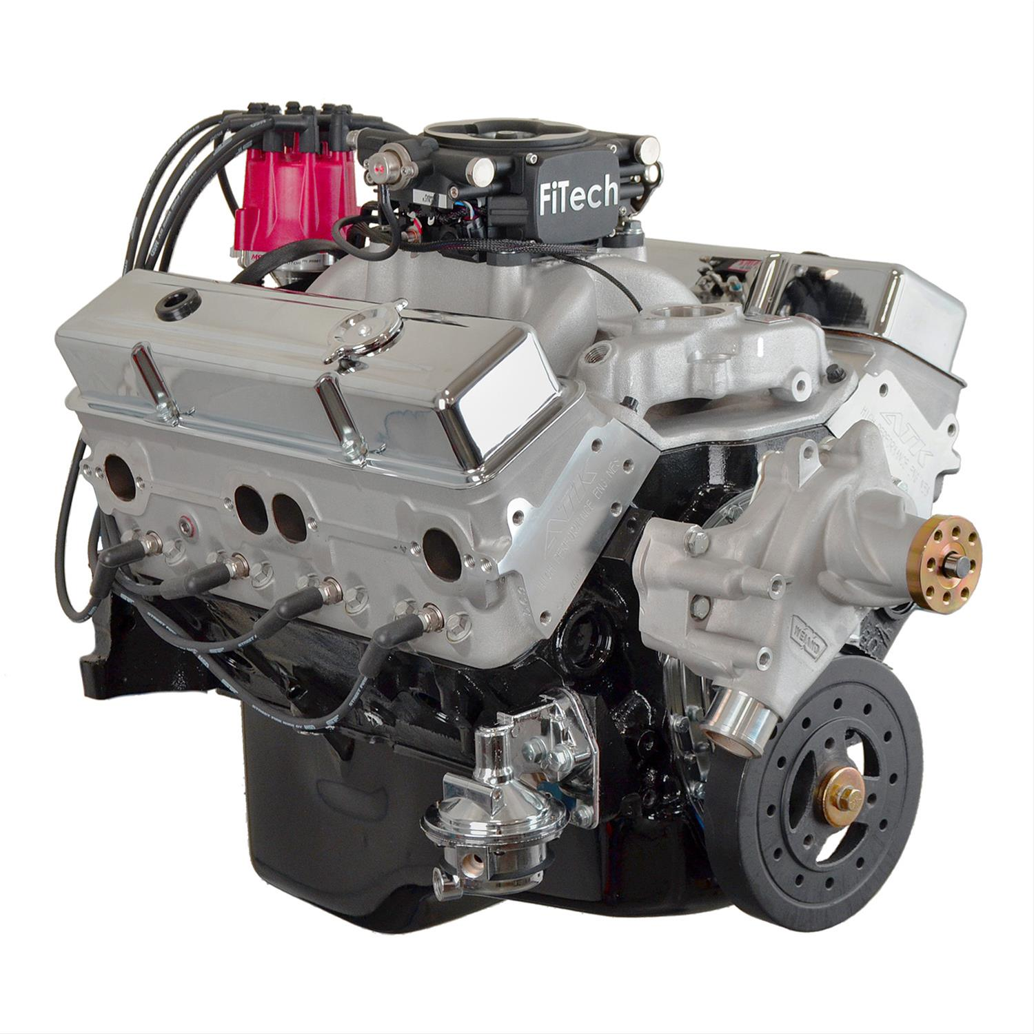 ATK High Performance GM 383 Stroker 500 HP Stage 3 Long Block Crate Engines  with EFI HP55C-EFI