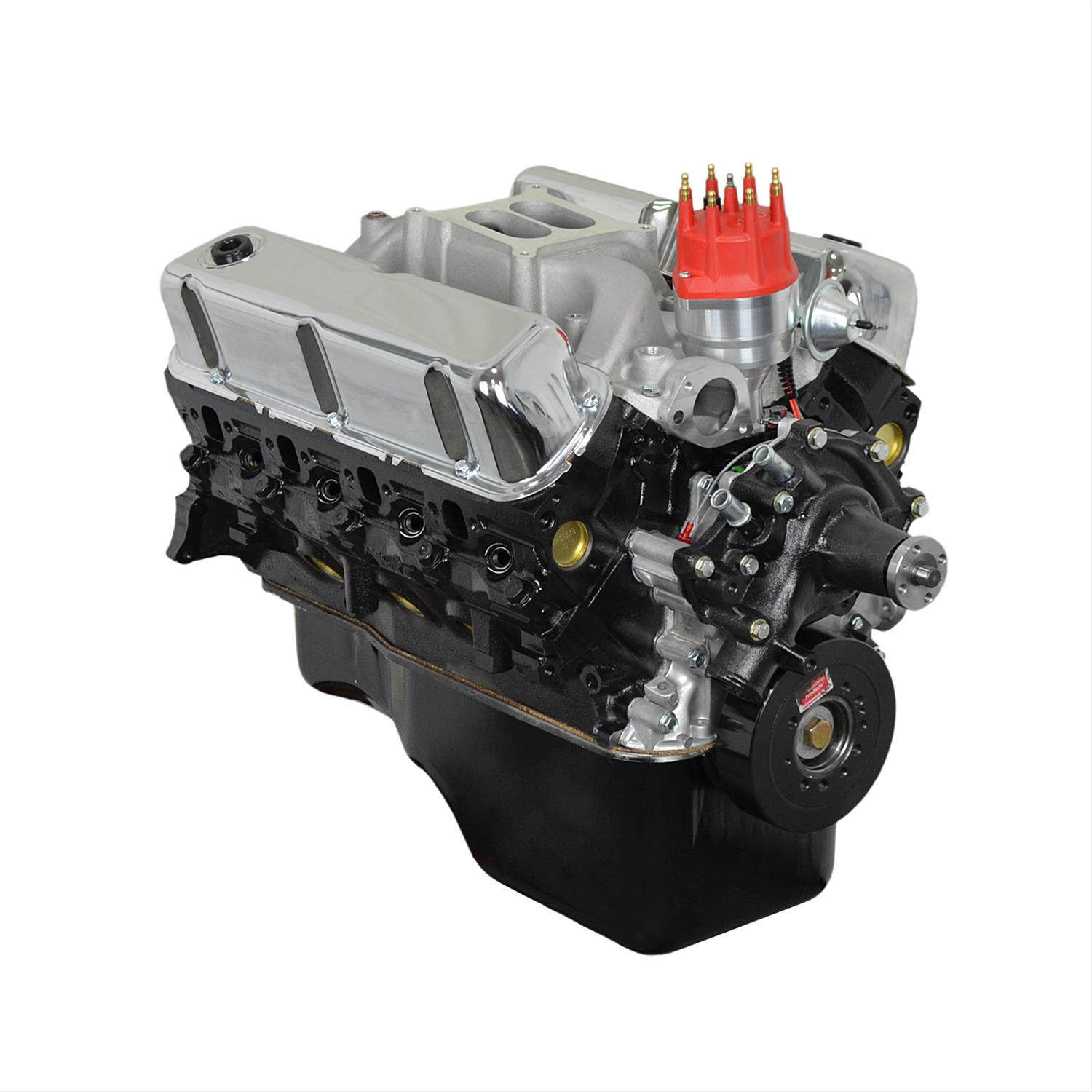Atk high performance ford 302 300hp stage 2 crate engines for Ford stroker motor sizes