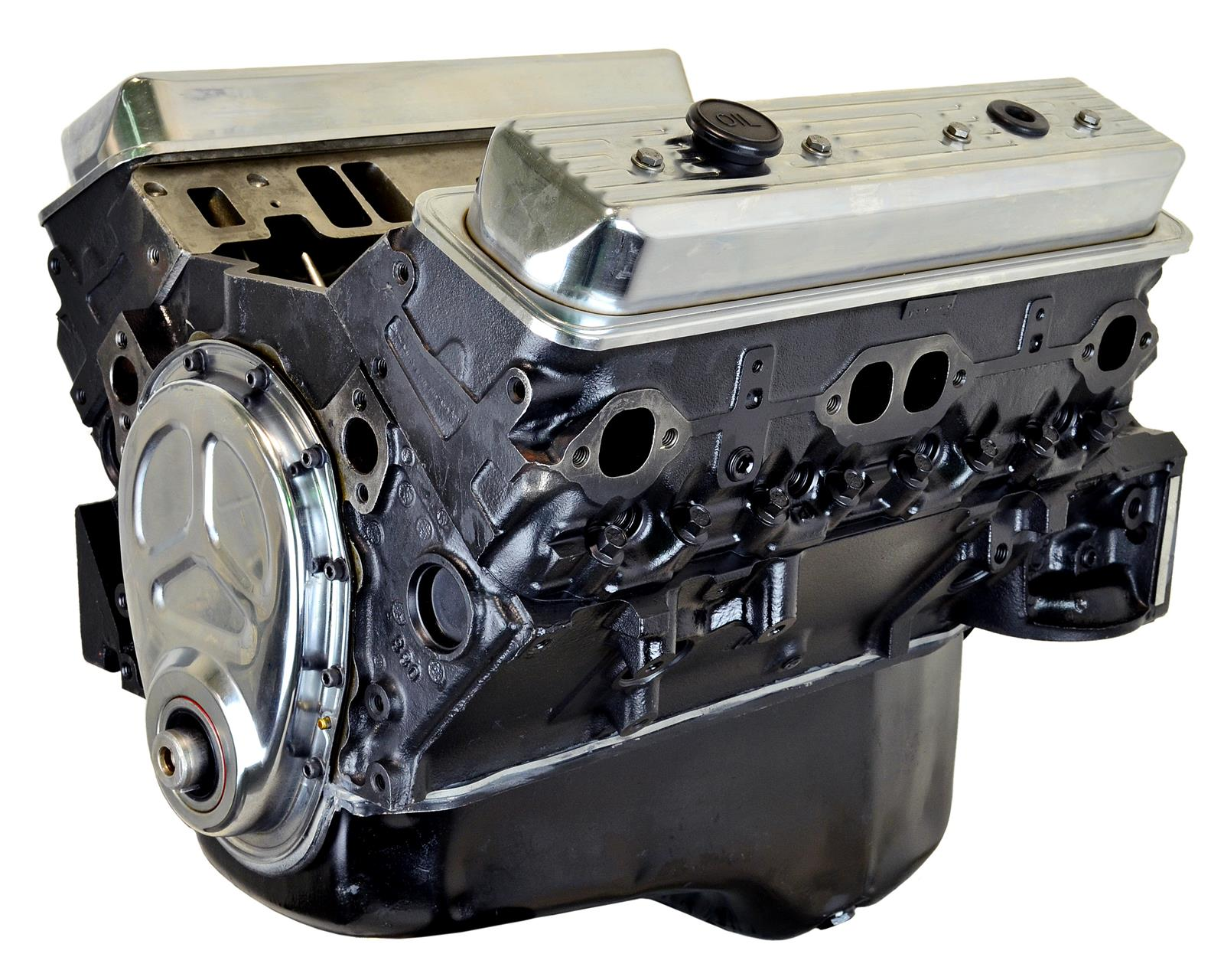 ATK High Performance GM 383 Stage 1 Marine Long Block Crate Engines HP90