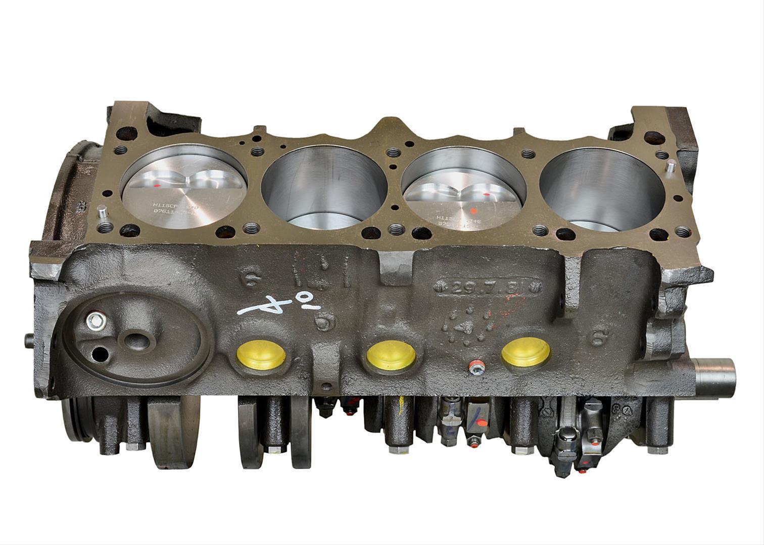 ATK High Performance Chrysler 408 A Stroker Short Blocks SP61