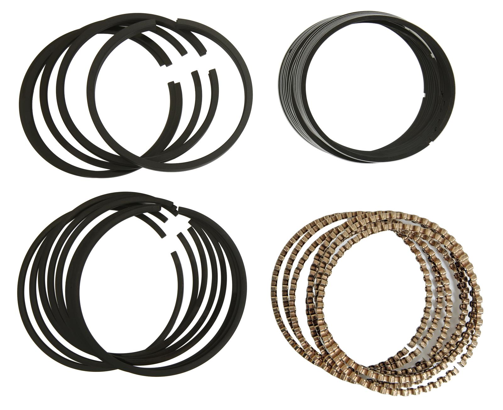 Hastings 2M641S Single Cylinder Piston Ring Set