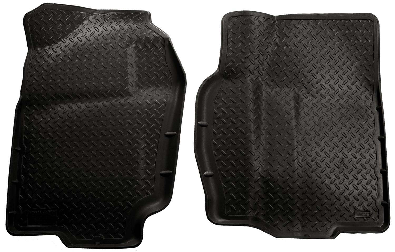 Husky Classic Style Floor Liners 30711   Free Shipping On Orders Over $99  At Summit Racing