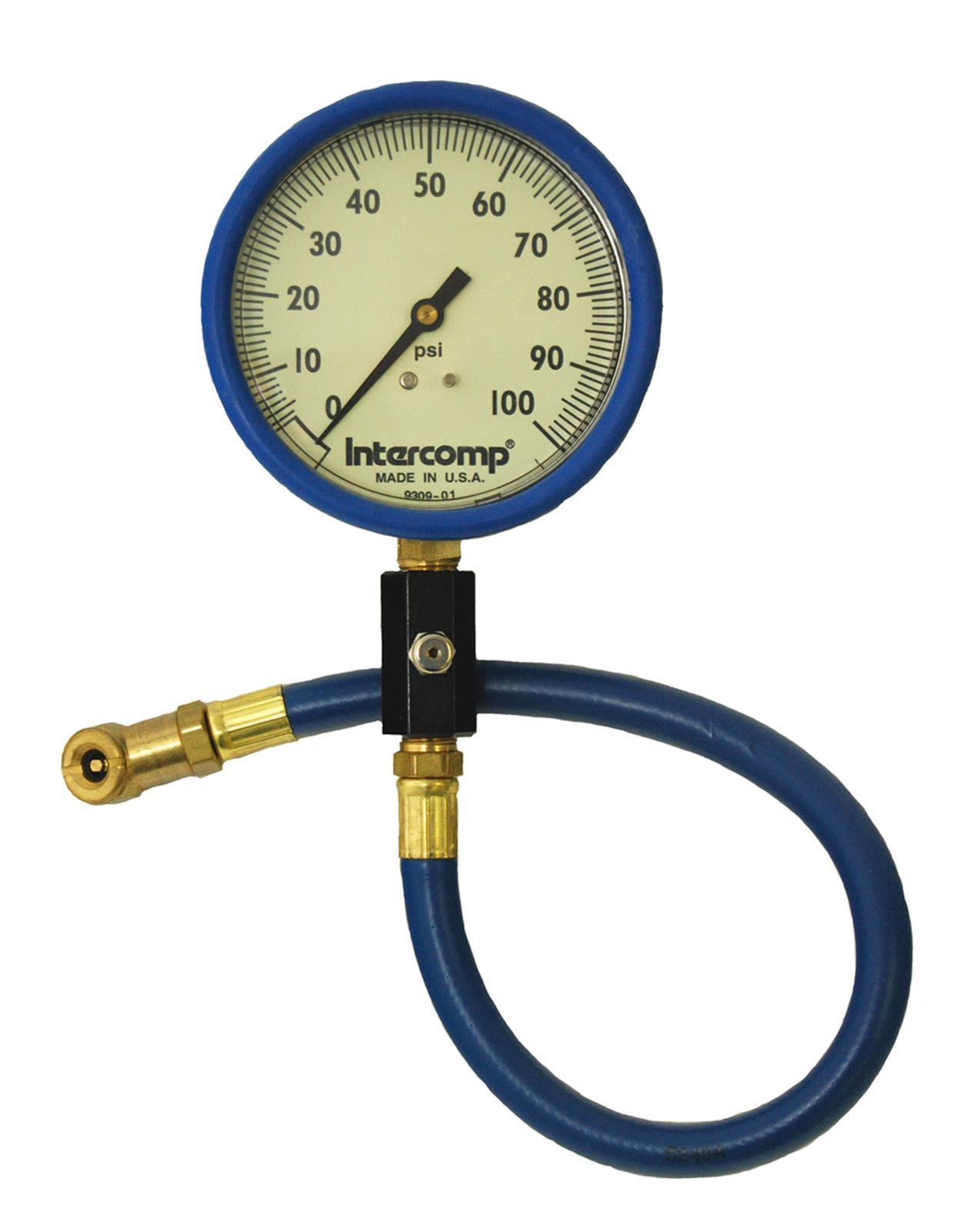 Air Pressure Gauge : Intercomp racing gauge air pressure psi quot dia