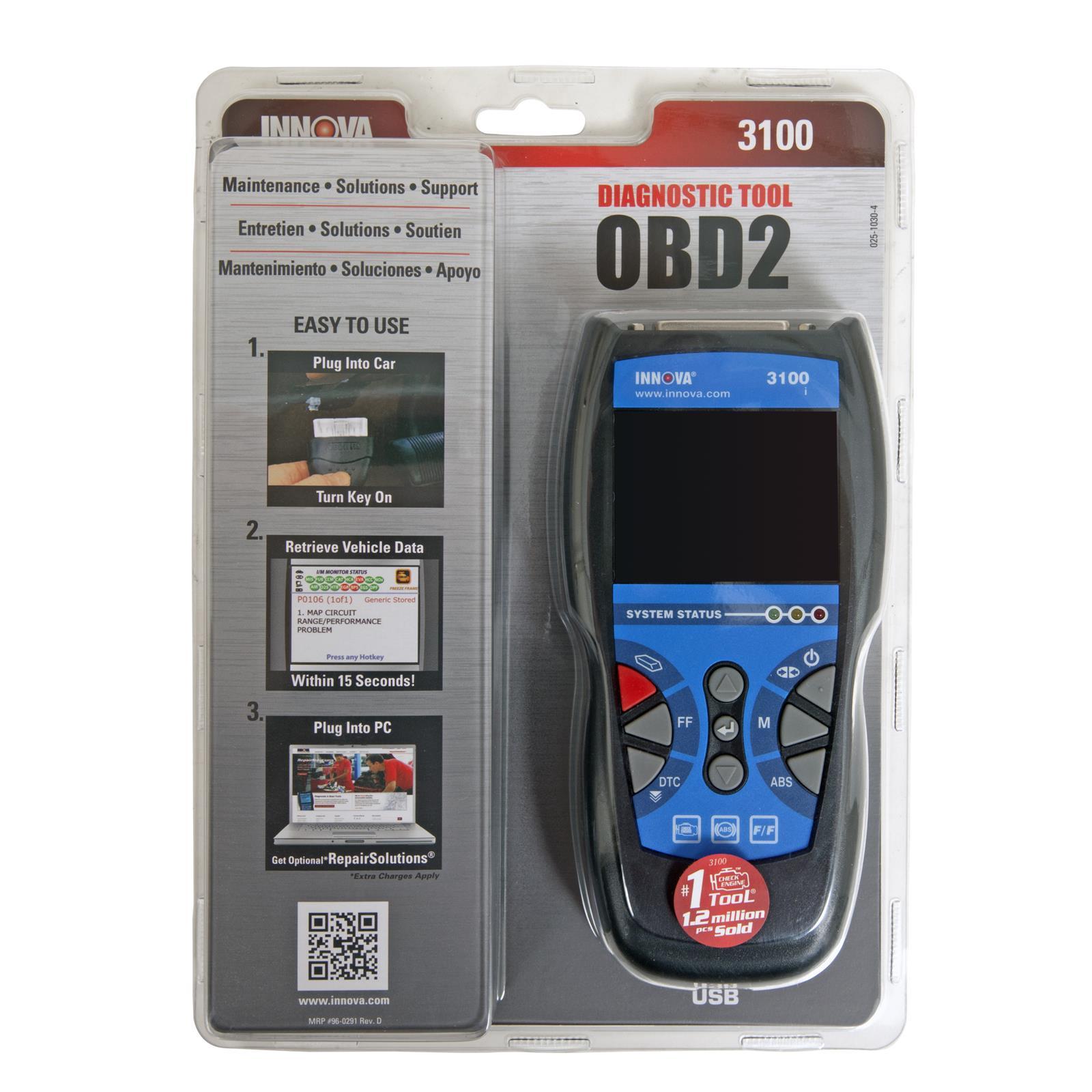 Innova 3100 OBD II Code Readers 3100I