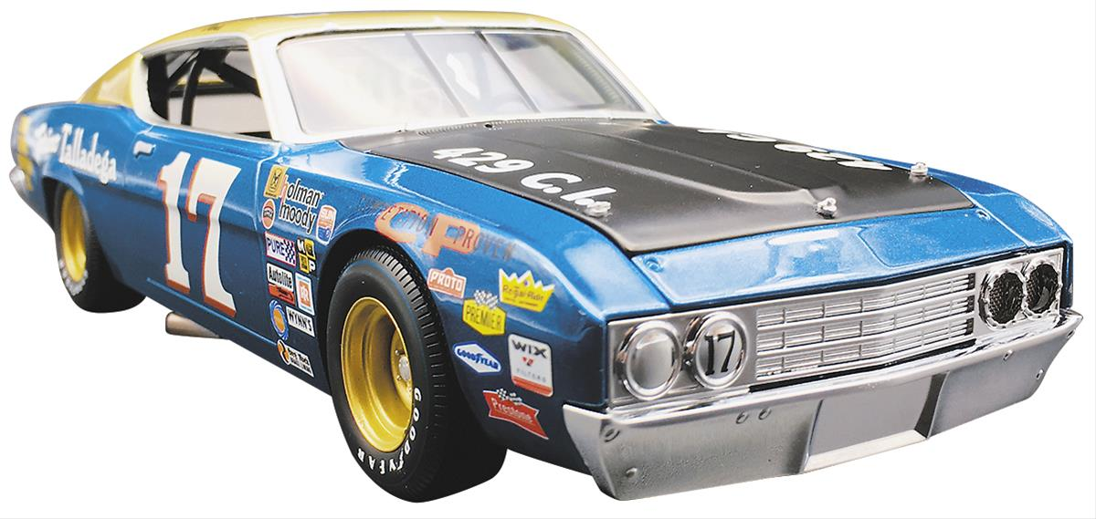 271e4ae472c 1 24 Scale David Pearson 1969 Ford Torino NASCAR® Diecast Model 69DP429BK -  Free Shipping on Orders Over  99 at Summit Racing