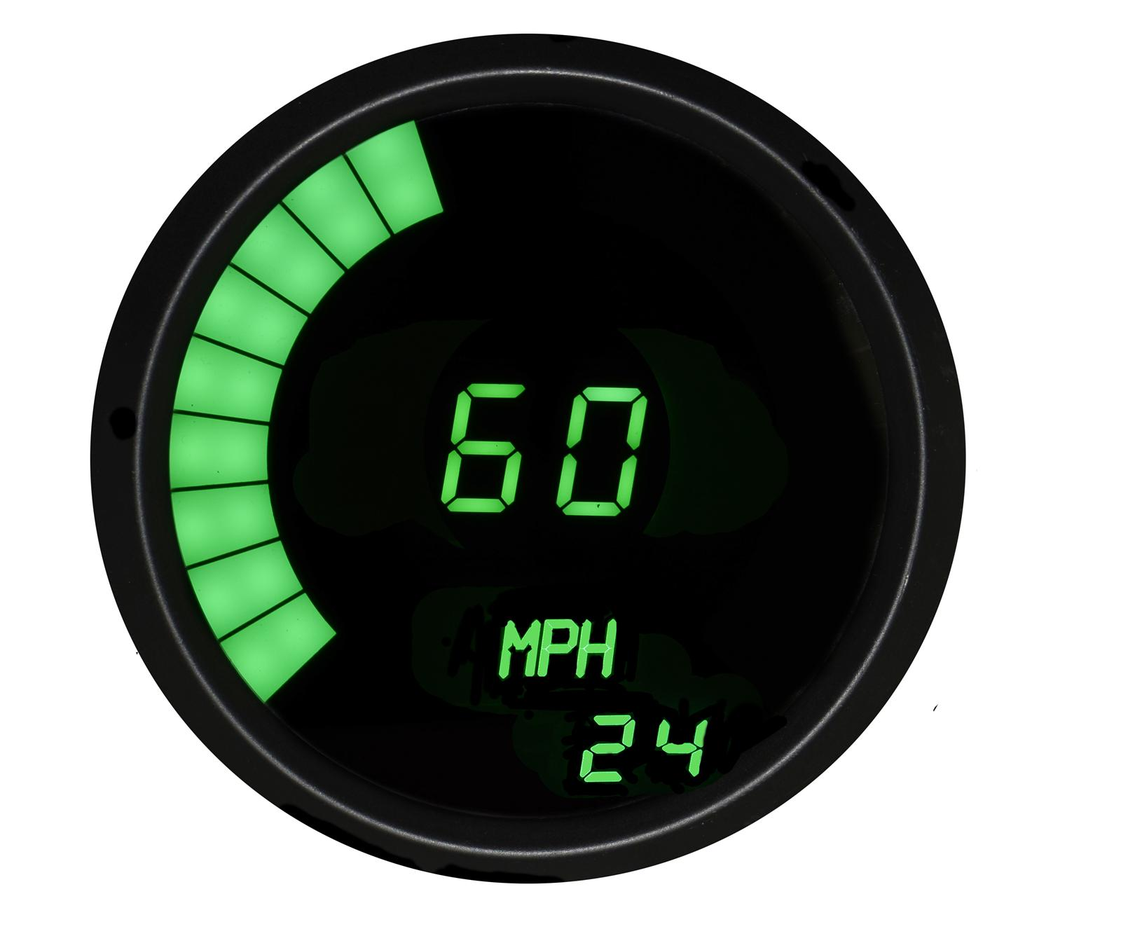 Intellitronix Led Digital Gauges : Intellitronix led digital speedometer m g ebay