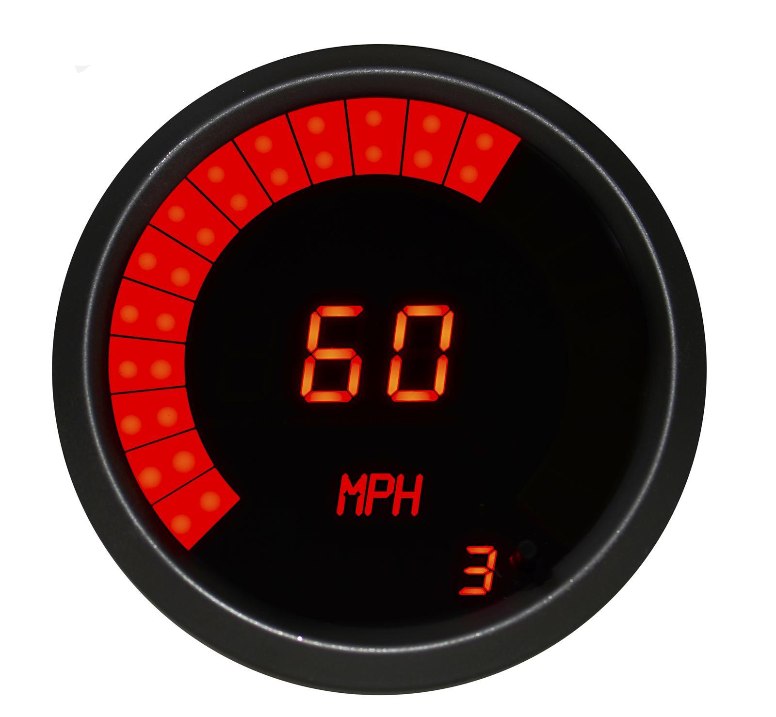 Intellitronix Led Digital Gauges : Intellitronix led digital speedometer m r ebay