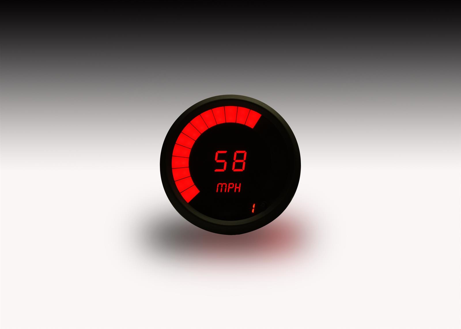 Intellitronix LED Digital Speedometers M9222R - Free Shipping on Orders  Over $99 at Summit Racing