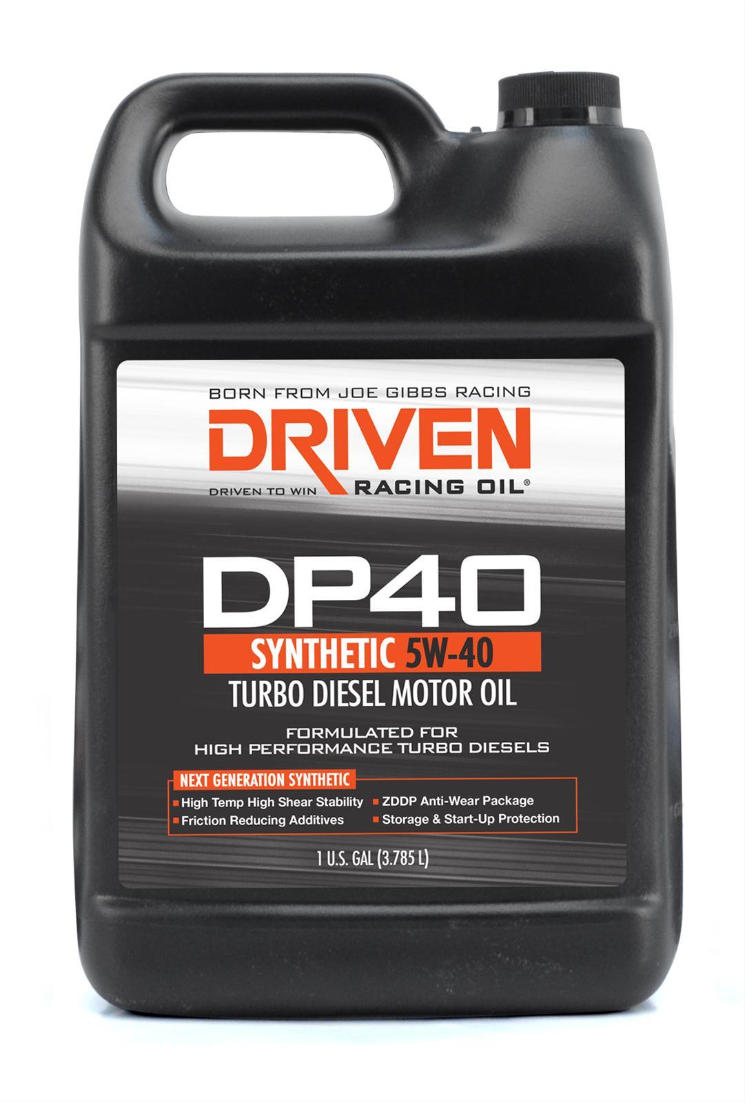 Joe Gibbs Racing Oil Motor Oil Dp40 Synthetic 5w40 1 Gallon Each Ebay