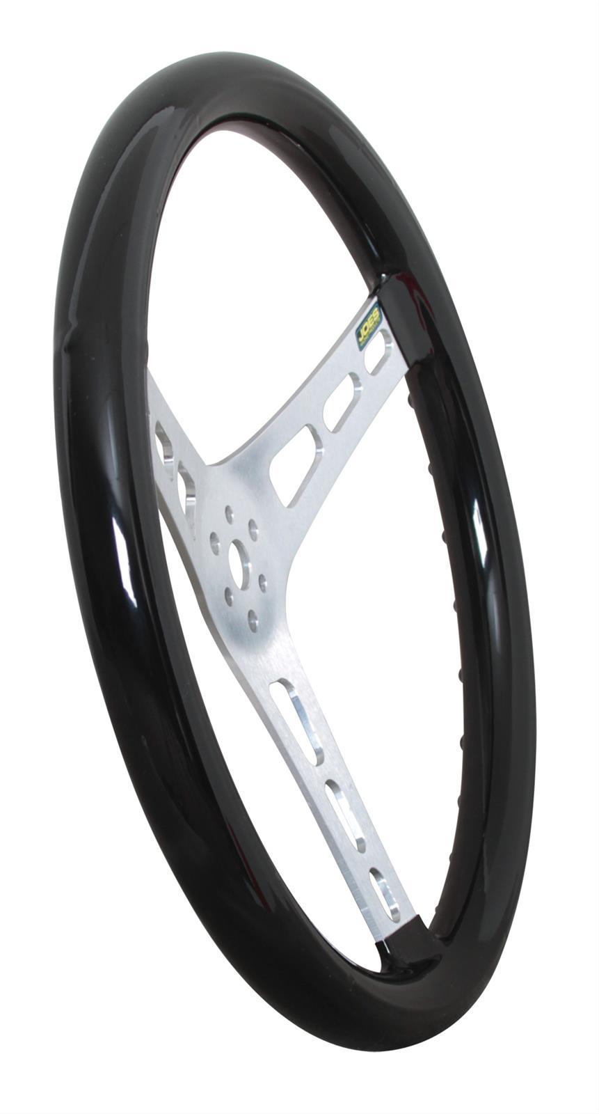 Joes Racing 13513-B 13 Aluminum Steering Wheel