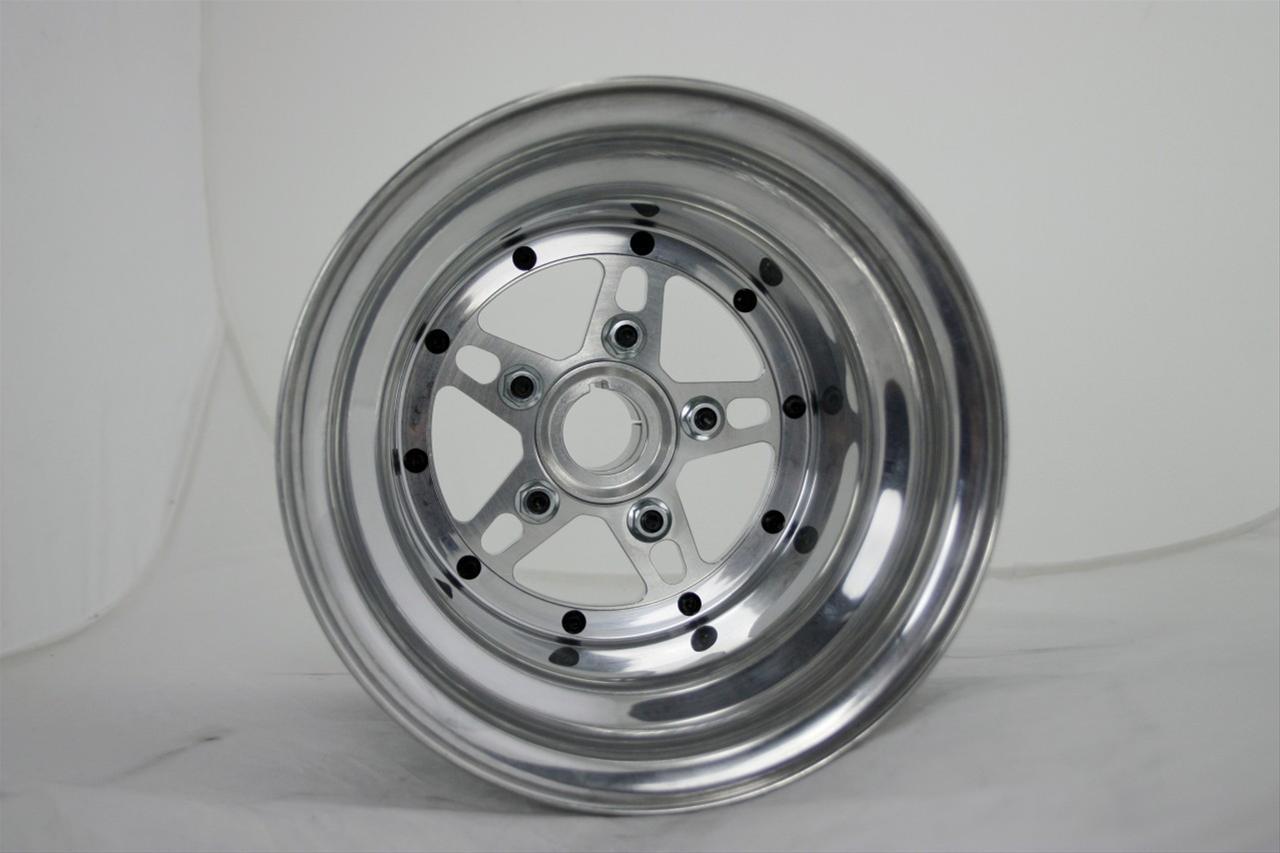 JR Race Car Pro Jr  Dragster Polished Rear Wheels 555-7605
