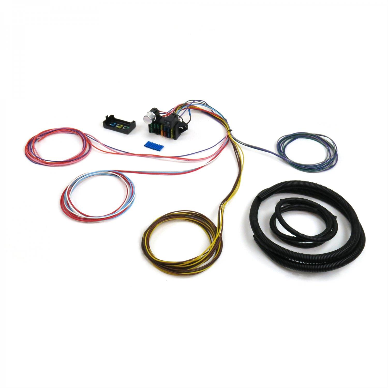 Keep It Clean Procomp Wiring Harnesses Kicprocomp12b Free Shipping 1957 Cadillac Harness On Orders Over 99 At Summit Racing