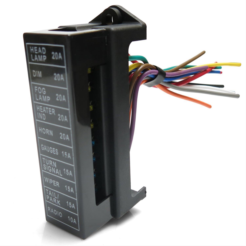 keep it clean wiring kickfb2 fuse box, universal 10 atc fuse blockdetails about keep it clean wiring kickfb2 fuse box, universal 10 atc fuse block with cover