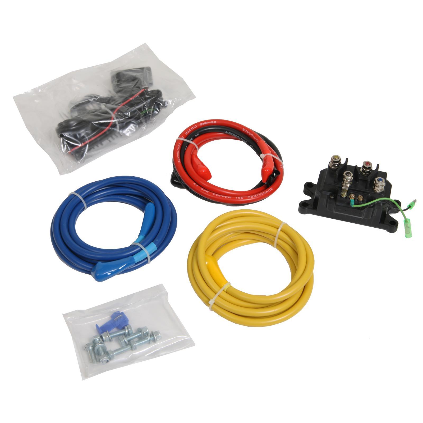 atv winch wiring kit