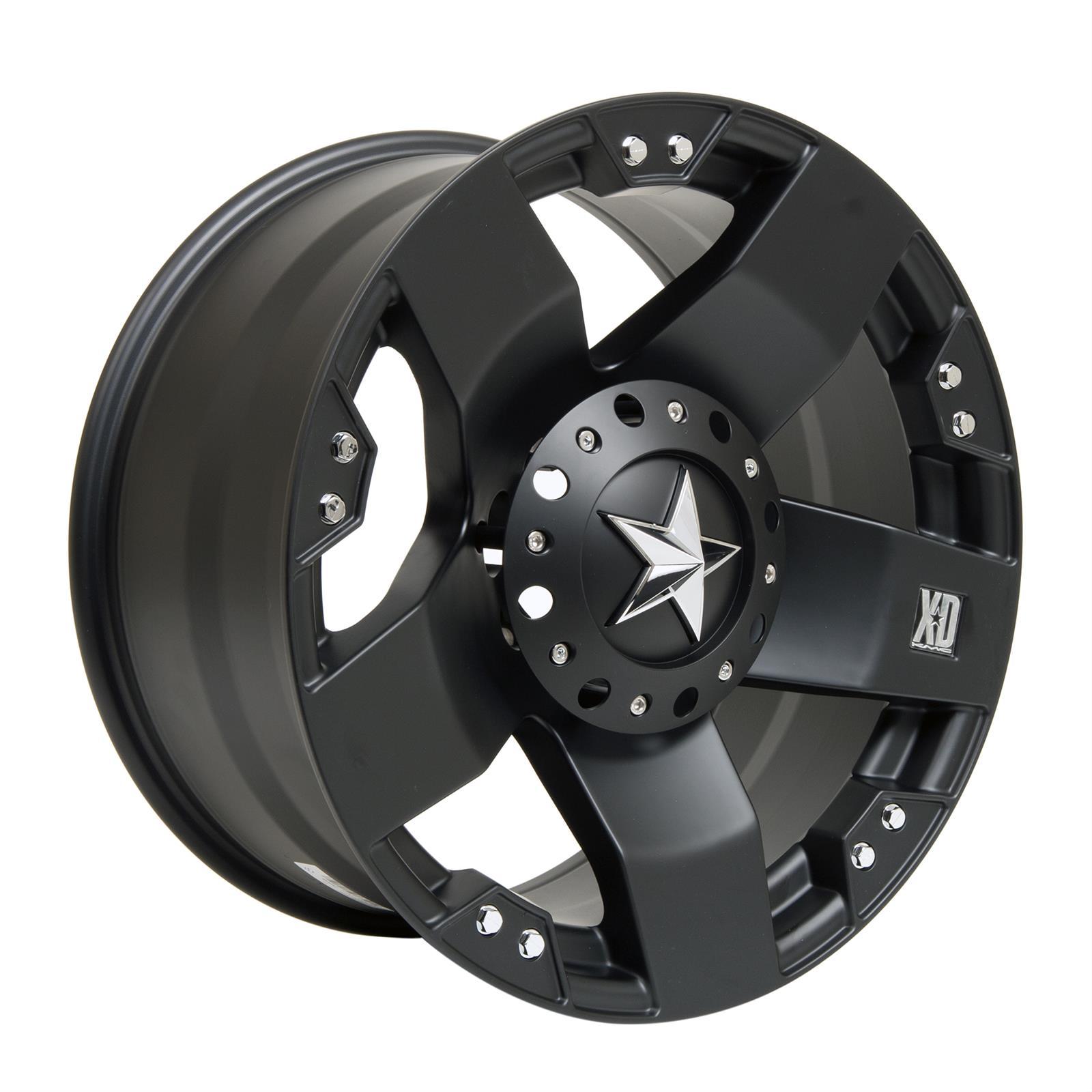 20x10 KMC XD775 Rockstar 6x5.5 6x135-24 OFFSET XD77521067324 Wheels Rims