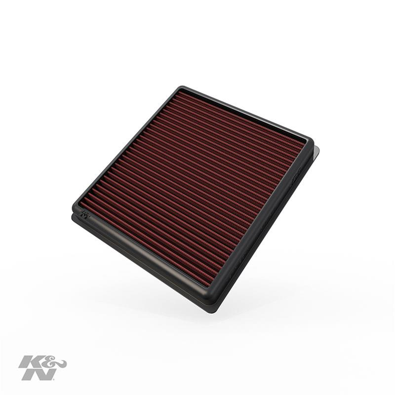 K/&N 33-2990 Performance Replacement Drop-In Air Filter