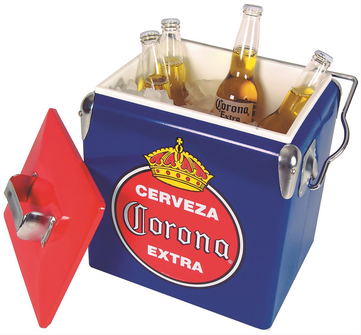 Vintage Corona Metal Cooler CORVIC-13