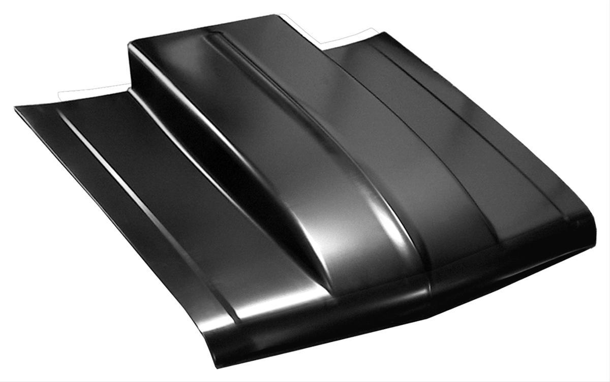 Steel Cowl Hoods ~ Keyparts hood steel edp coated bolt on in cowl