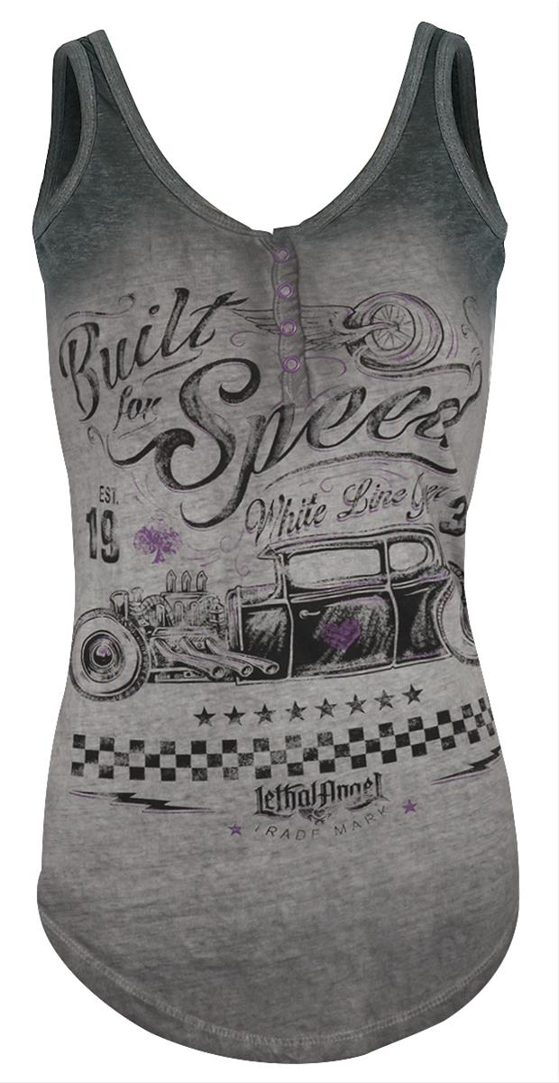 8381159b Lethal Angel Built for Speed Ladies Tank LT20418M - Free Shipping on Orders  Over $99 at Summit Racing