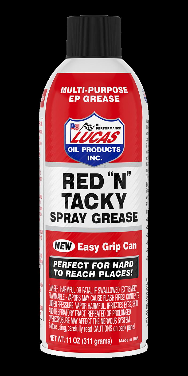 Lucas Red 'N' Tacky Grease 11025