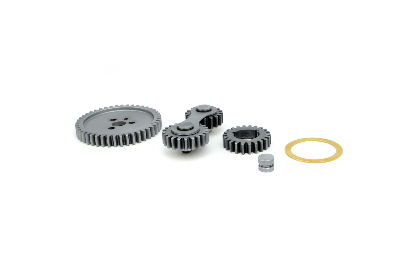 Edelbrock Gear Drive Accu-Drive Dual Idler Chevy Small Block Kit 7890