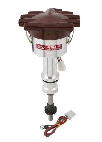 Mallory Distributor Unilite Mechanical Advance Ford 221