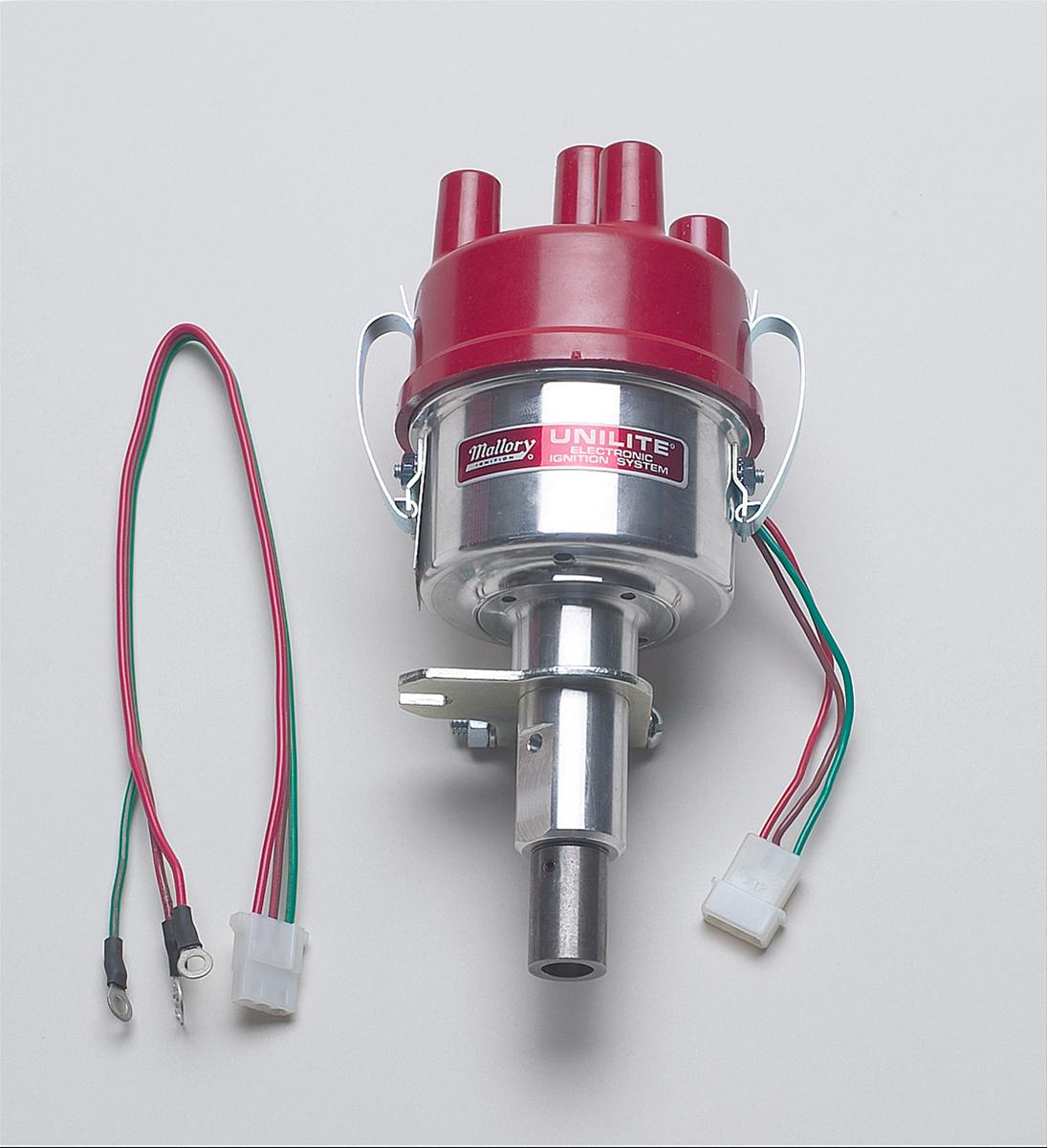 Mallory 4558901 distributor unilite mechanical advance for Mallory material