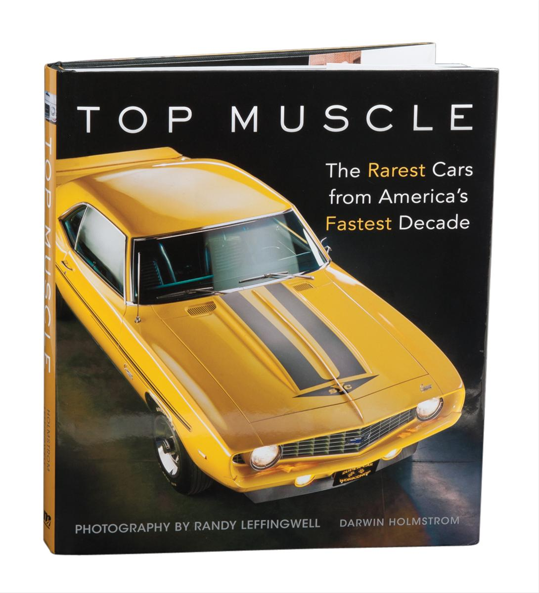 Motorbooks Top Muscle: The Rarest Cars From America's