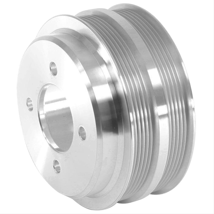 March Performance 1874 FORD BB DUAL BELT ALUM CRANK PULLEY