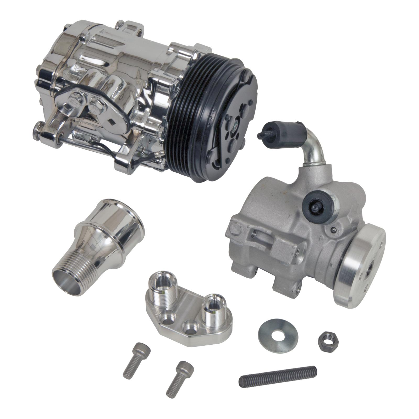 March Performance Electric Water Pump Serpentine Pulley