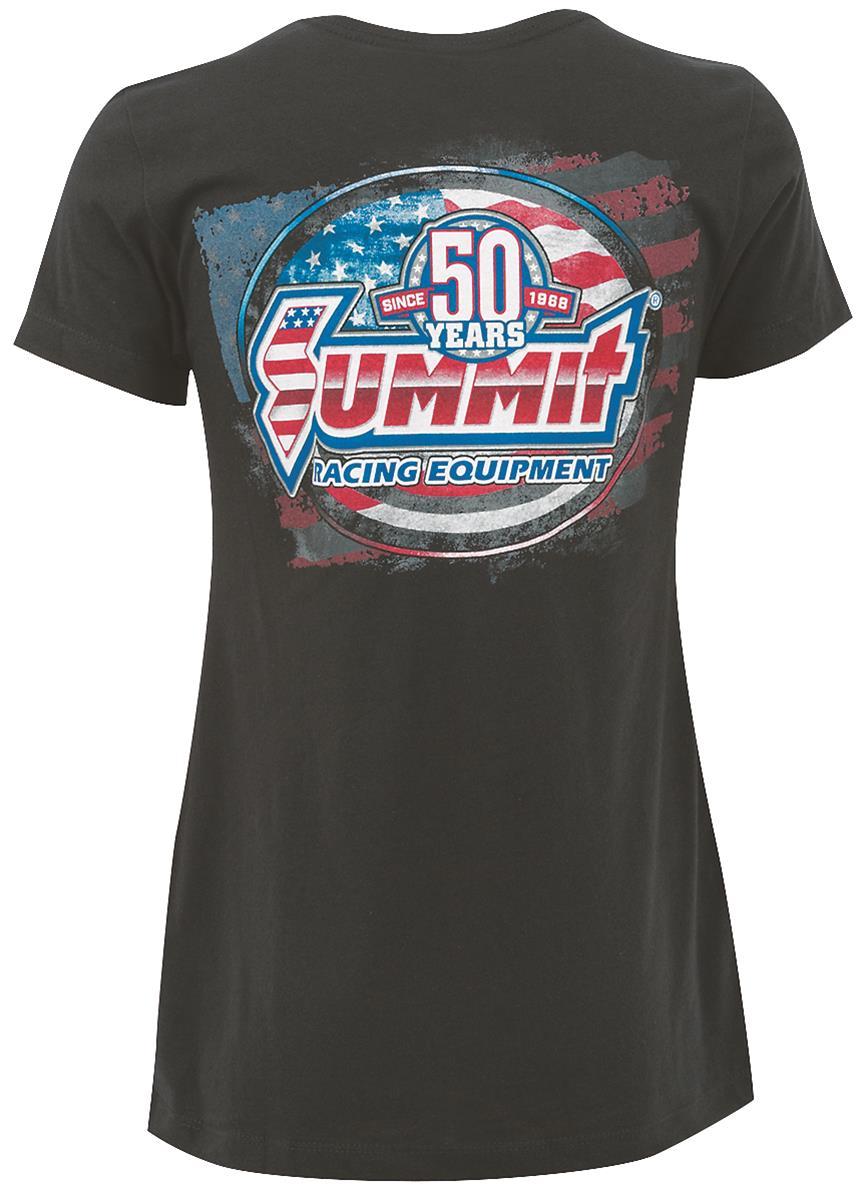 7b3dd76b19 Summit 50th Anniversary Patriotic Ladies T-Shirt SUMMLT000905