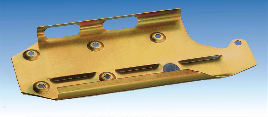 Milodon 81150 Windage Tray Stud Kit Steel Black Oxide Chevy Small Block Set