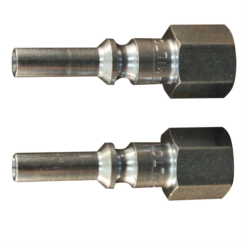Milton S-791 1//4 MNPT L Style Plug Milton Industries