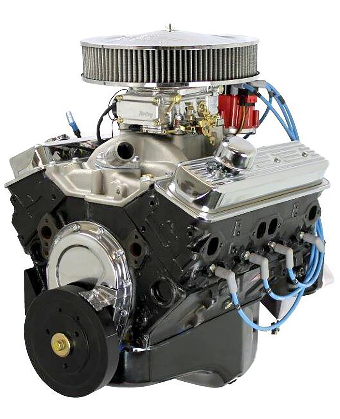 BluePrint Engines GM 350 C I D  365 HP Fully Dressed Long Block Crate  Engines BP3501CTC1