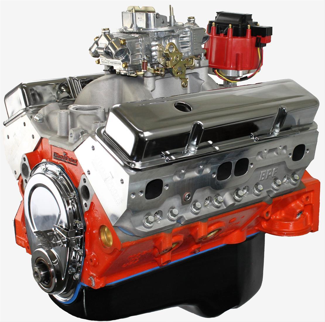 BluePrint Engines GM 400 C I D  460 HP Dressed Long Block Crate Engines  BP4001CTC1