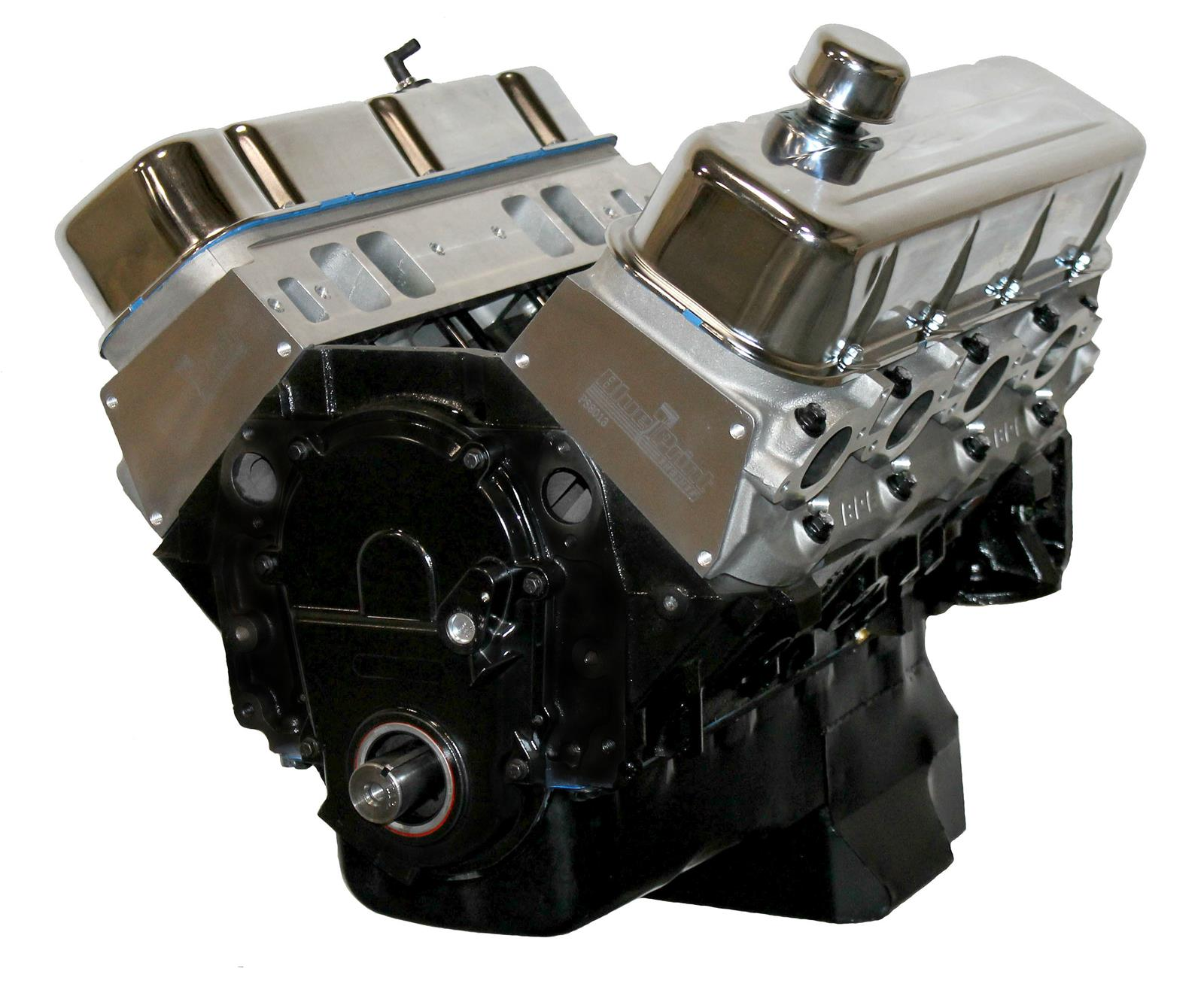BluePrint Engines GM 496 C I D  575 HP Stroker Base Long Block Crate  Engines with Aluminum Heads BP4967CT
