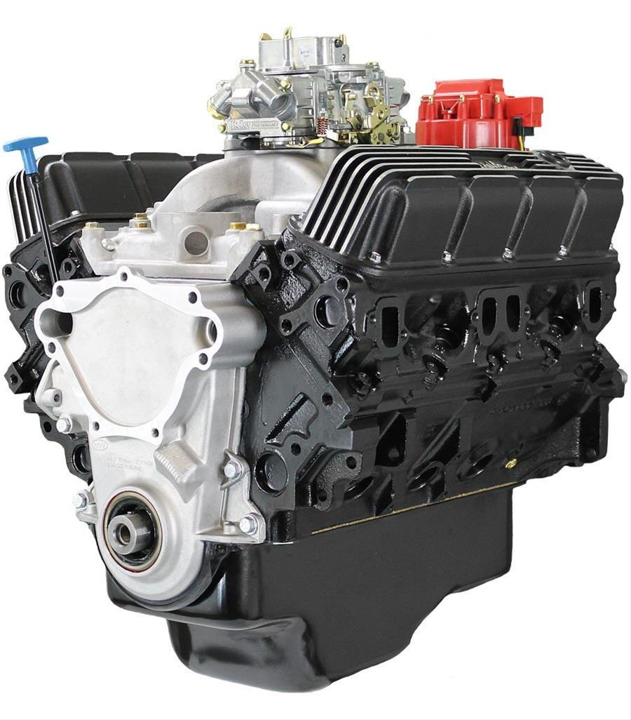 BluePrint Engines Chrysler 408 Stroker 375 HP Value Power Base Long Block  Crate Engines BPC4082CTC